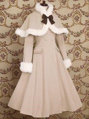 프릴 드레스 코트