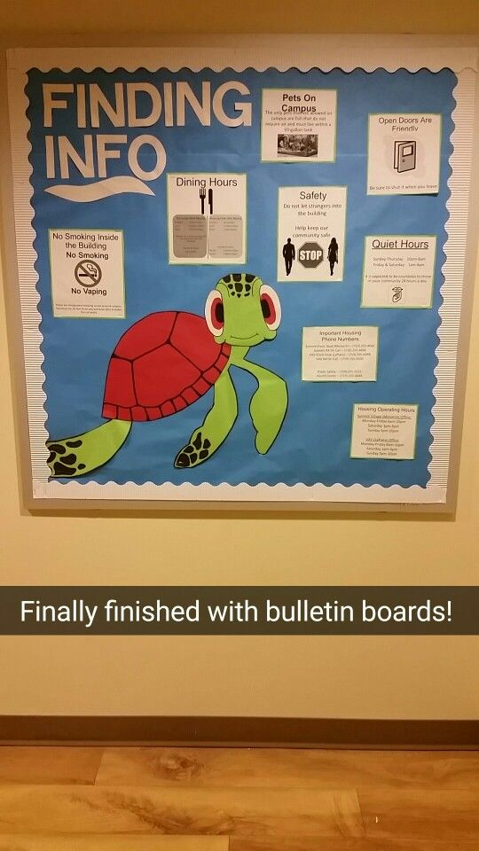 Finding nemo Ra bulletin board