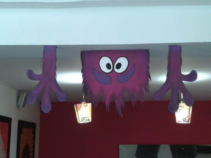 Monster University Decoration.