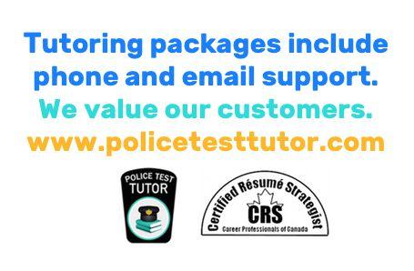 police recruitment pdf practive tests