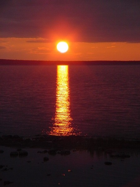 Manitoulin Island - Cottage sunset view over the North Channel