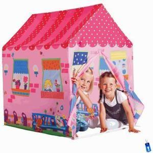 Met deze geweldige sweet home speeltent zullen meisjes zich urenlang vermaken. De speeltent is gemakkelijk in elkaar te zetten en na gebruik weer makkelijk op te bergen. Je kunt hem zowel binnen als buiten gebruiken. Op www.shopwiki.nl #kinderkamer