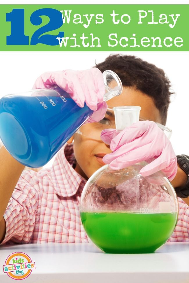 12 Ways to Play with Science  - Pinned by @PediaStaff – Please Visit ht.ly/63sNtfor all our pediatric therapy pins