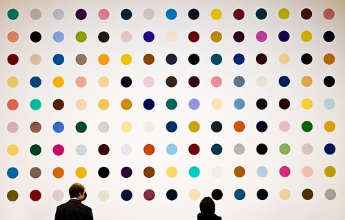 Damien HIrst: Gcse Art, Art I, Paintings Creative, Contemporary Art, Art Contemporary, Meaning, Dots Dots, Design, Damien Hirst Spots Paintings