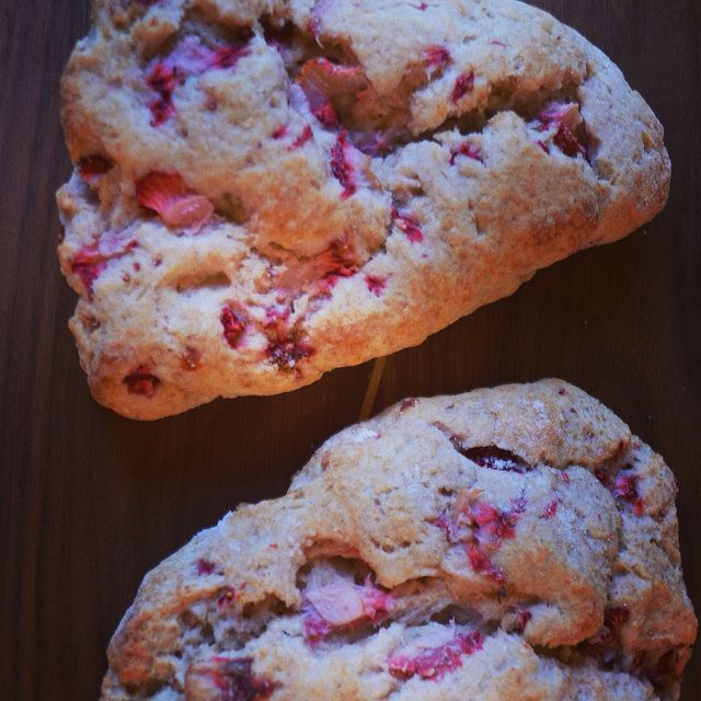 whole wheat strawberry ricotta scones | things i made today by ...