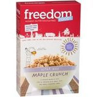 Check out freedom foods cereal ultra rice maple crunch 300g at woolworths.com.au. Order 24/7 at our online supermarket