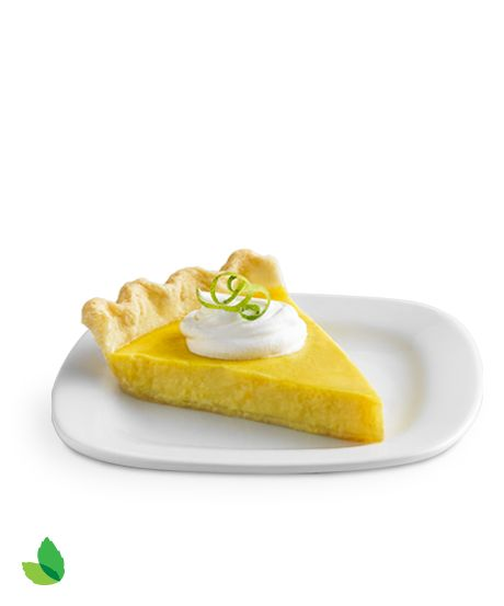 Insanely Delish Citrus Tart! | Refreshingly creamy & just 130 calories! | 25% fewer calories & 79% less sugar than the original version #client