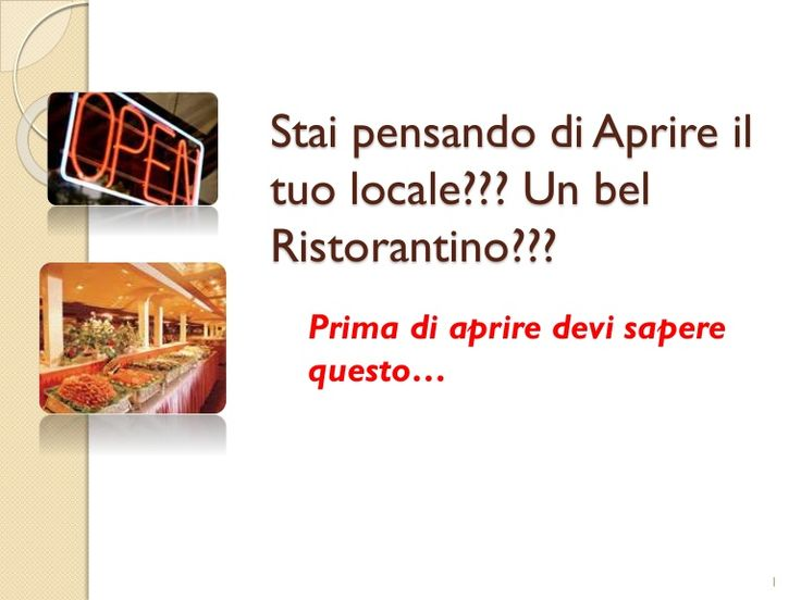 Apri il tuo ristorante con un marketing incredibile