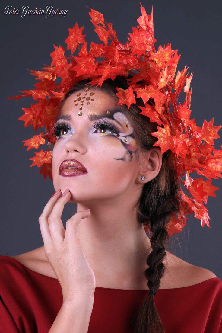 Ősz #fantasyart #fantasymakeup #makeup #makeupartist #autumn #ősz