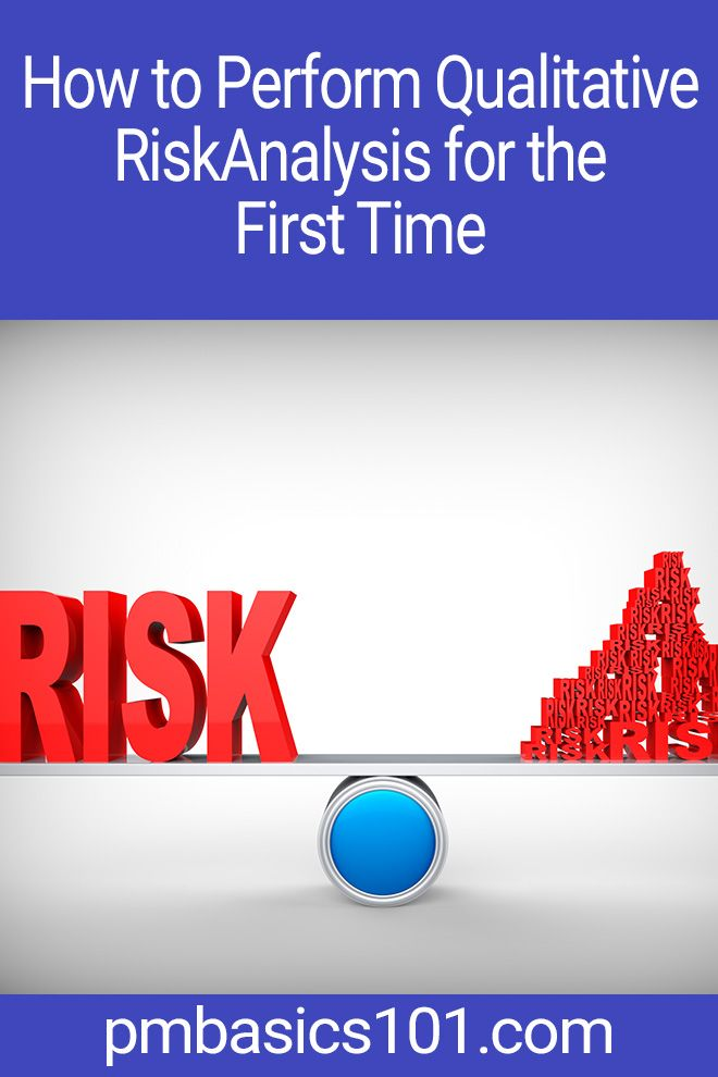 How To Perform Qualitative Risk Analysis For The First Time Pm