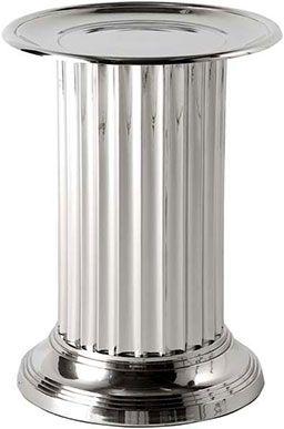 Никелированный столик-колонна Eichholtz Table Stewart