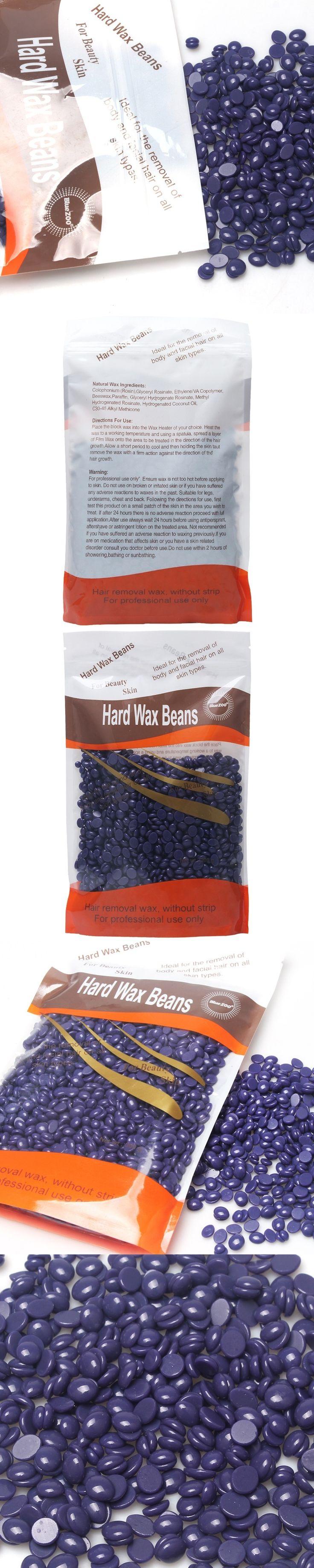 300g Hard Wax Beans No Strip Depilatory Hot Film Hard Wax Pellet Waxing Bikini Hair Removal Bean Lavender Flavour Free Shipping