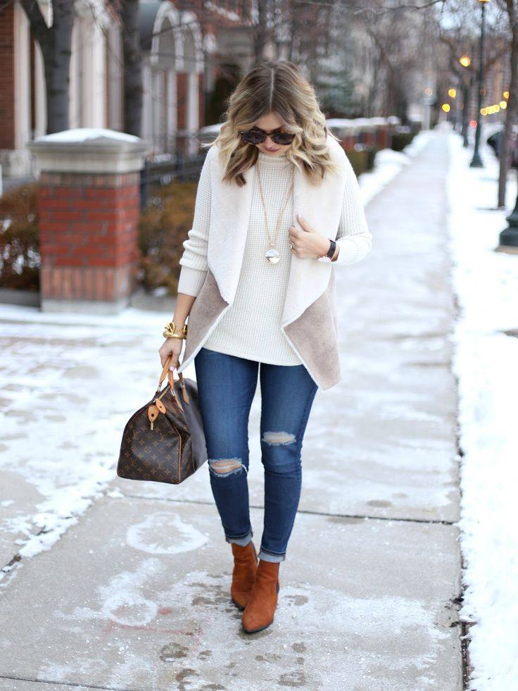 Chic in Faux Shearling