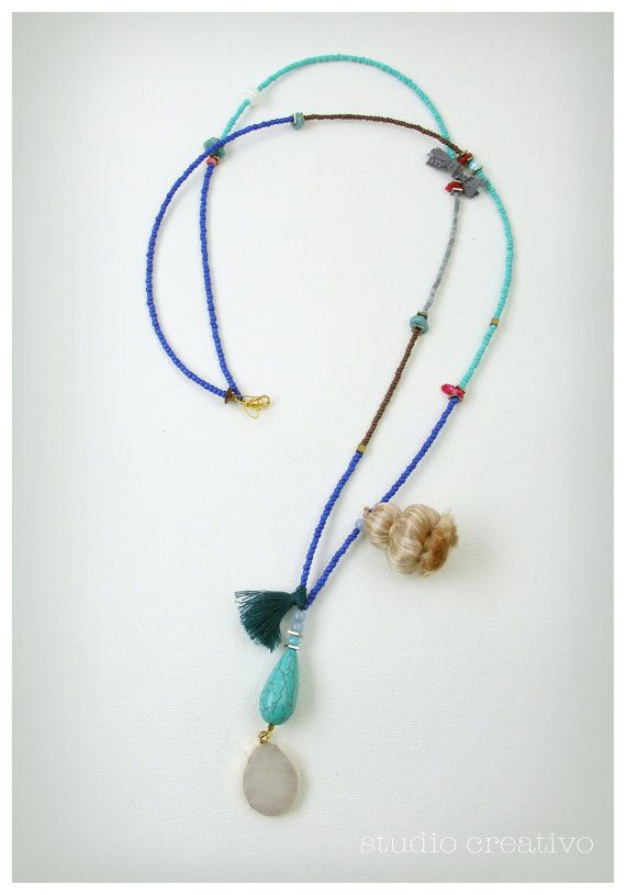 Boho Summer Collection Necklace II by Xanthippe by StudioCreativo