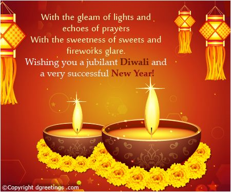 Wishes for a happy Diwali.