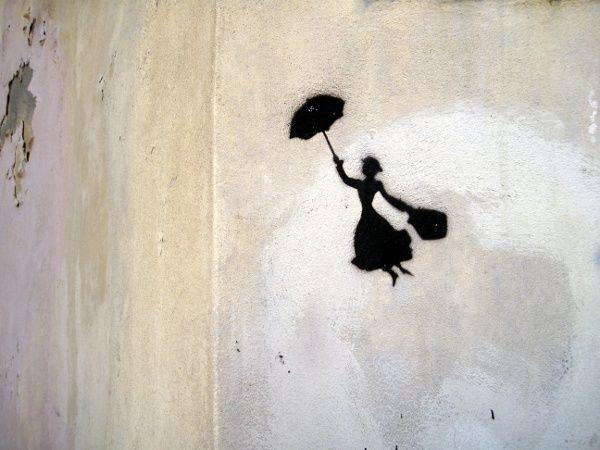 Mary Poppins Graffiti