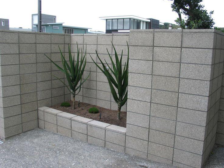 Best 25 Concrete Block Retaining Wall Ideas On Pinterest Retaining Blocks Decorative Cinde Concrete Block Walls Decorative Cinder Blocks Cinder Block Walls