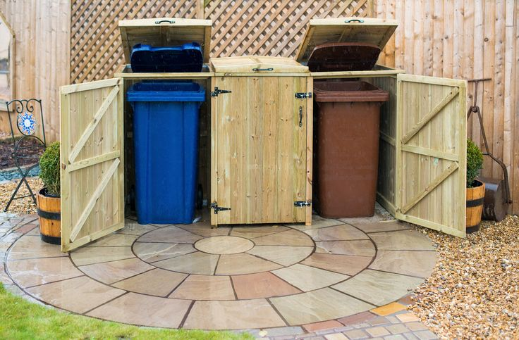 garden bin storage - Google Search