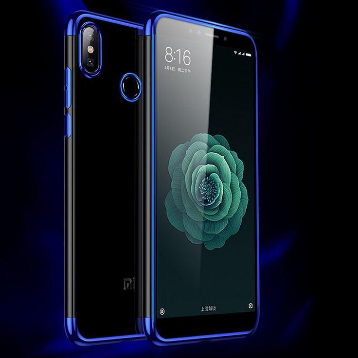 For Xiaomi Redmi 6 Pro Case Luxury Laser Plating Soft Clear Back Cover For Redmi 6a Redmi6 Pro Phone Cases Xiaomi Phone Cases Case