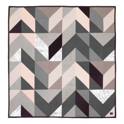 Couverture Arrow - Gris - 235x245 cm  Ferm Living