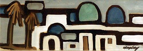 Markey Robinson 'Morocco' #art #painting #morocco #cityscape #MarkeyRobinson #DukeStreetGallery