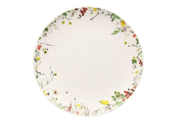"Rosenthal ""Brillance Fleurs Sauvages"" plate"