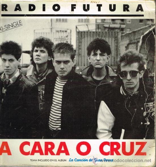 Radio Futura - 37 grados / Cara o cruz - MaxiSingle 1987
