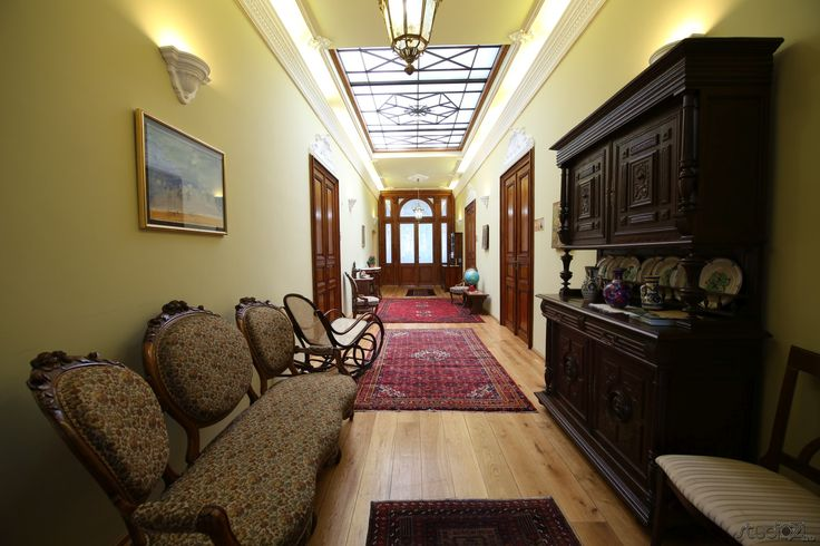 Alexandrina Polizu's lounge.
