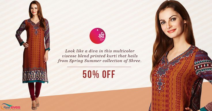 Upto 50% Off on Shree kurti @ Planeteves. Get a coupon code of Rs 200 on registration with free shipping and easy returns.