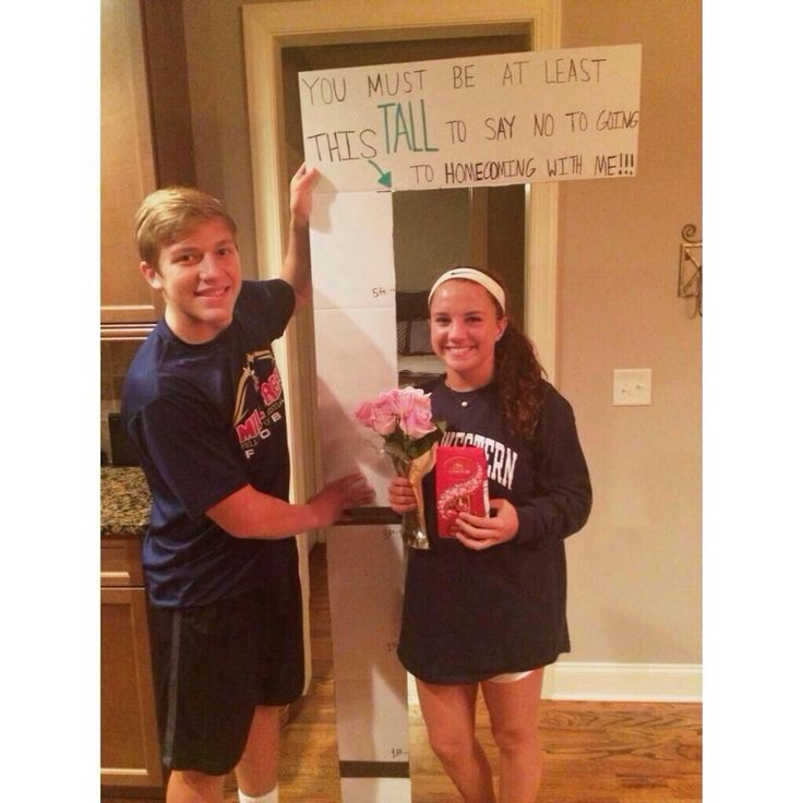 Homecoming proposal, prom proposal, ideas, cute, original More