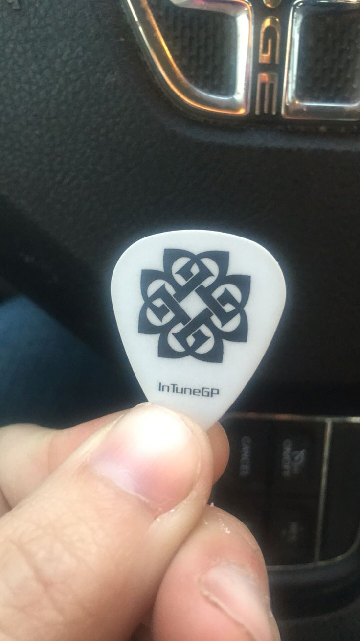 Breaking Benjamin pick thrown to the audience and caught by my husband 11/24/2015 Portland ME Cross Insurance Arena