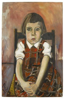 Alice Neel  Cindy  1960   Oil on canvas   28 x 18 inches 71.1 x 45.7 cm