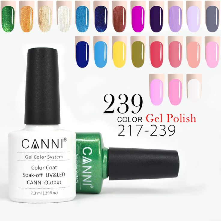 CANNI One Step Effect Gel Paint Varnish 30917 Nail Art Design No Acid Primer Base Coat Wipe Topcoat Odourless UV LED Gel Polish