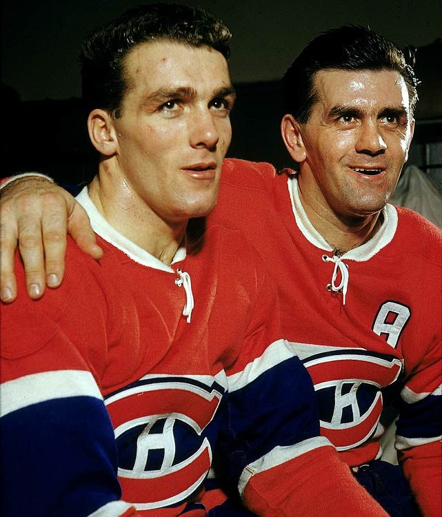 Henri and Maurice Richard, Montreal Canadiens