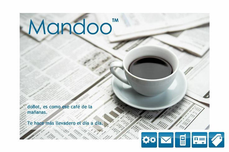 #doBot es como el #café de la mañana.   Te hace más llevadero el día a día.