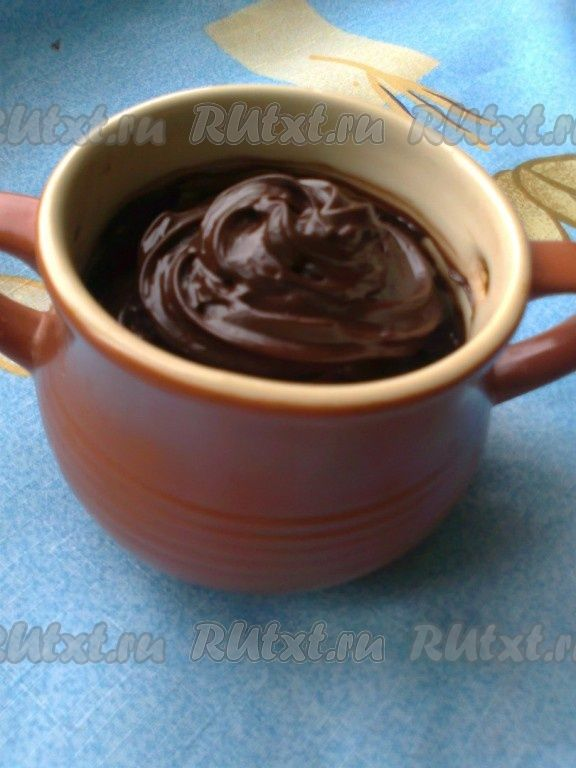Быстрый домашний шоколад (почти нутелла)