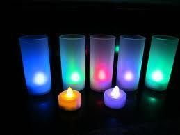 Velas Led para centros de Mesa y decoraciones con lamparas de papel