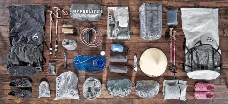 Ultralight gear for the Appalachian Trail. Everything Tenderfoot is bringing. #AT2016 #apppalachiantrail #thruhiker