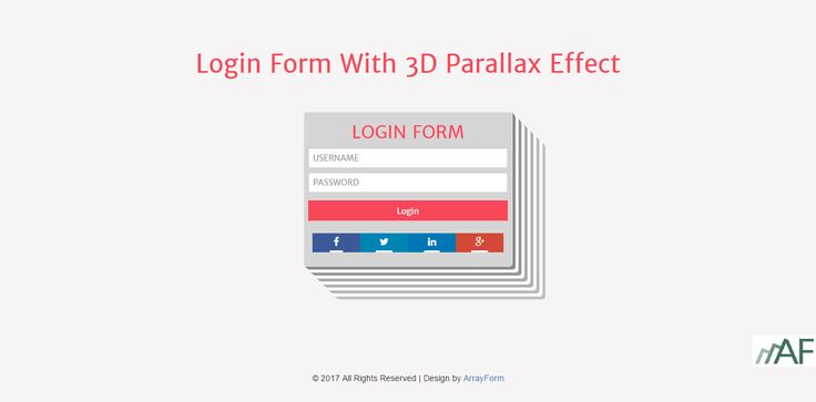 12 best Login Form Templates Use HTML5 - CSS3 images on Pinterest - free sign up template
