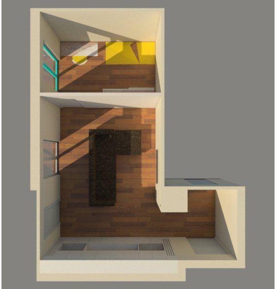 LIVING room, Barletta, 2016 - Ruggiero Dibitonto