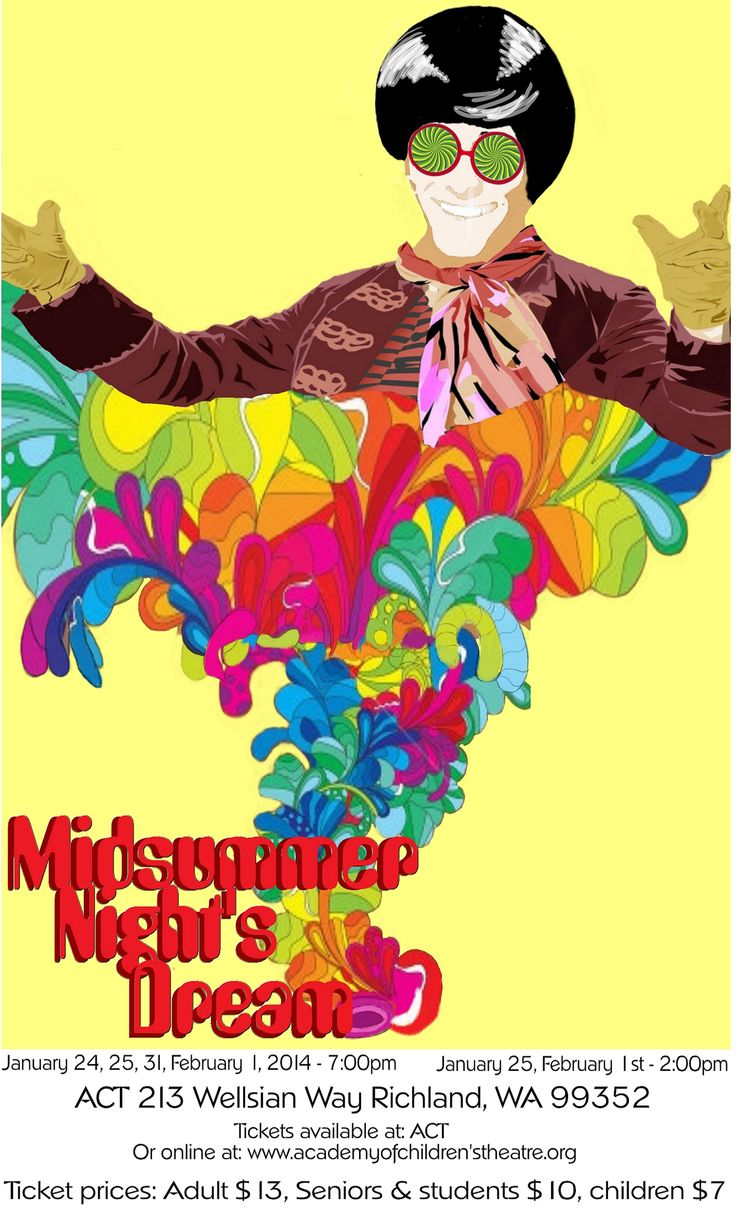 the identification of the theme in the play a midsummer nights dream by william shakespeare Download shakespeare's a midsummer night's dream (dover fine art, by william shakespeare  of the play looks the following  shakespeare's a midsummer night's.