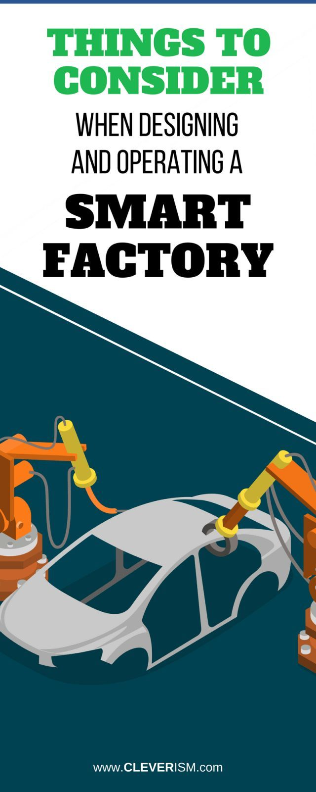 Things to Consider when Designing and Operating a Smart Factory