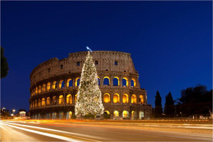 Magische Weihnachtszeit in #Rom erleben!  Übernachtet im 3-Sterne Colony #Hotel für nur 40 Euro zu zweit inklusive Frühstück und freut euch auf die ewige Stadt mit ihren weltberühmten Sehenswürdigkeiten wie dem Kolosseum.