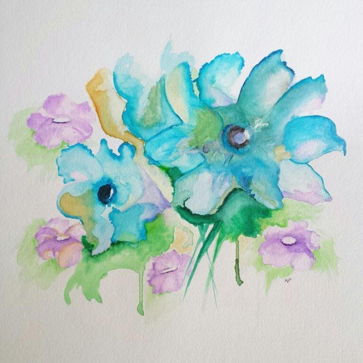 Spring #Watercolors
