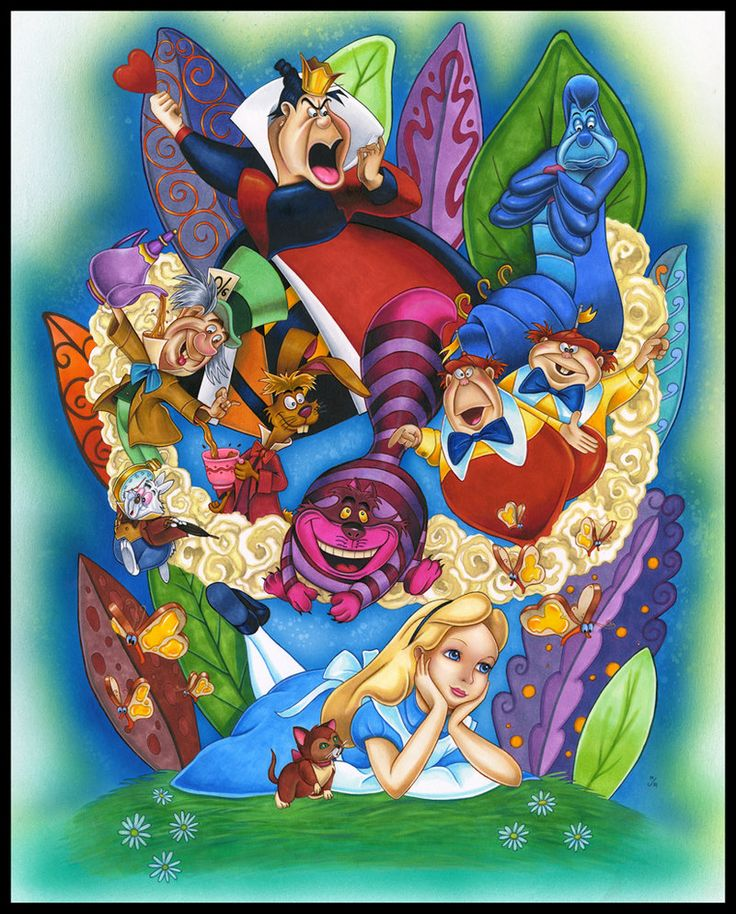 Alice In Wonderland Disney Characters: ALICE REMEMBERS By MJasonReed On DeviantART