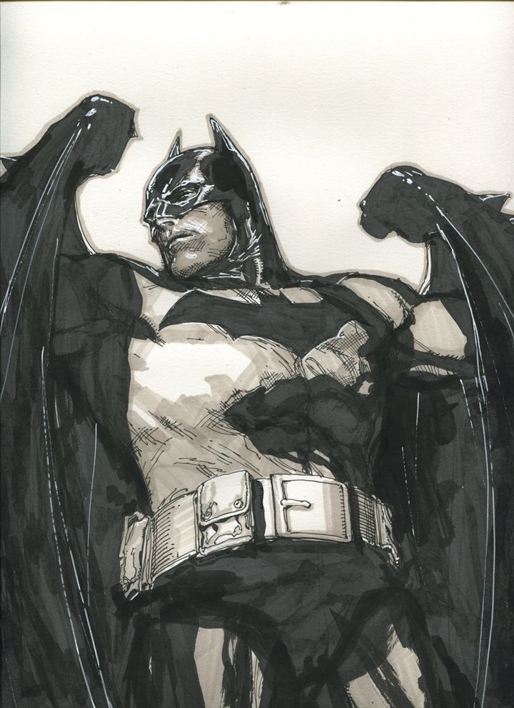Batman by Leinilyu: Wolverines Artists, Comic Books, Leinilyu Deviantart Com, Comic Artists, I M Batman, Bats Boards, Dark Knights, Art Galleries, Leinil Yu