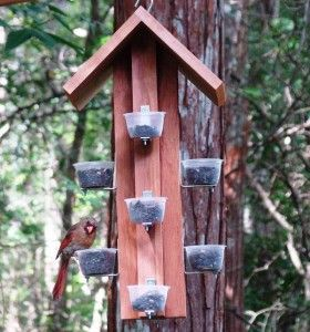 | Our feeder offers 10 feeding stations to attract multiple cardinals at ...