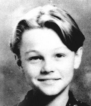 27. Leonardo di Caprio  Awww look! Leonardo with his Titanic hairdo. How cute!Before:  After: