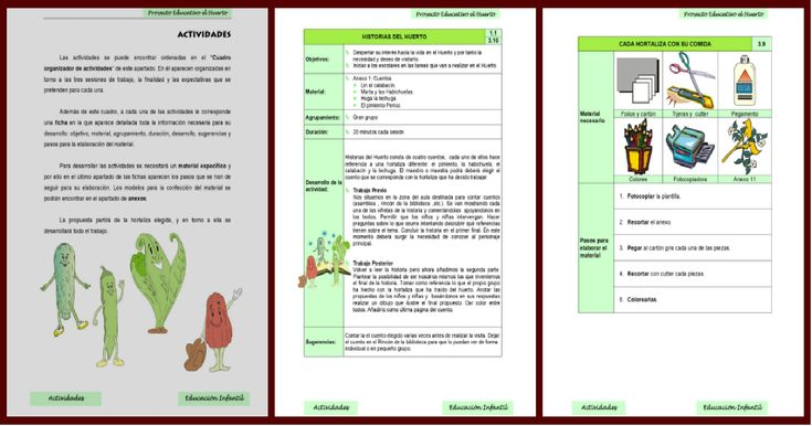 Nuestro proyecto educativo para el nuevo ciclo. El huerto escolar