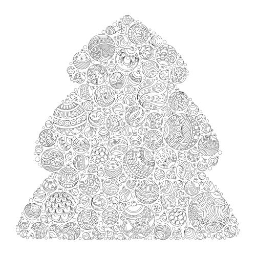 Oh Christmas tree, oh Christmas tree, how lovely are your coloring pages? Relieve some stress this holiday season with this series of